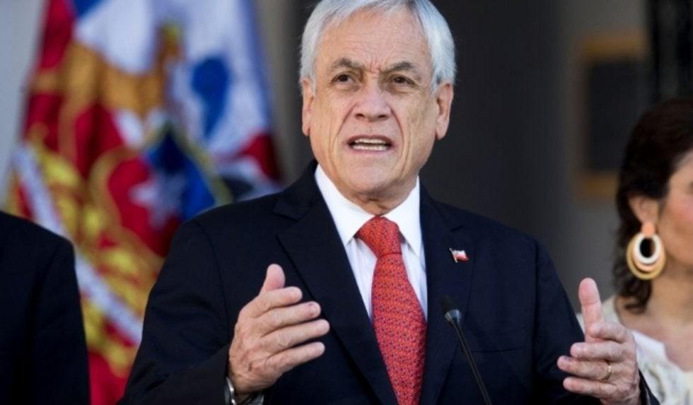 Sebastián Piñera: Esta situación debe terminar