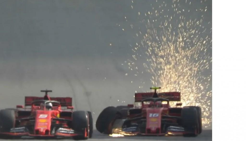 Verstappen ganó en Brasil y el impacto del toque entre Leclerc y Vettel