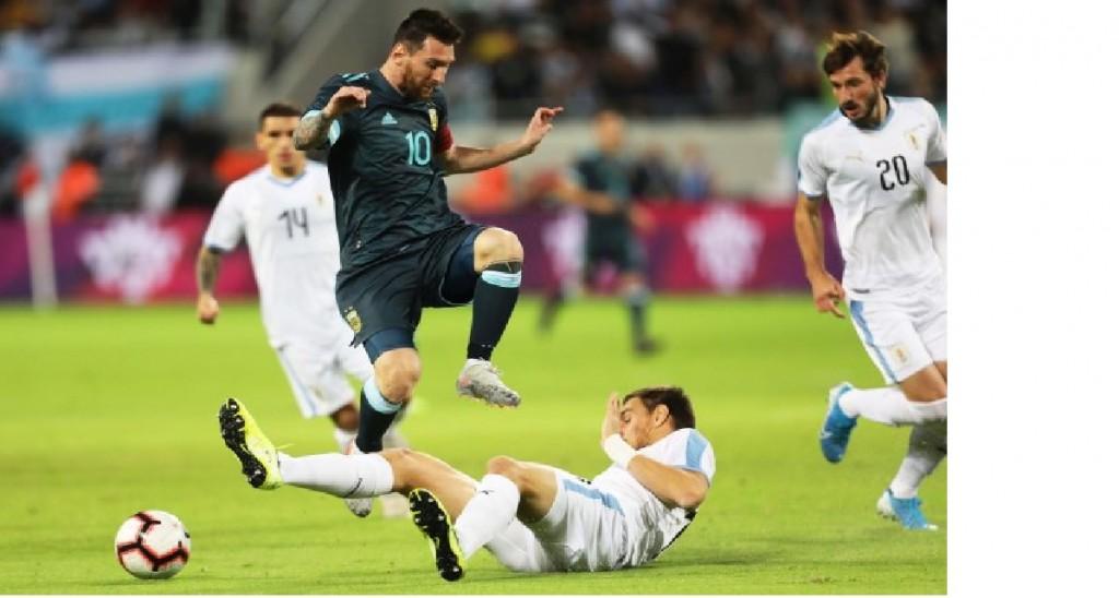 Argentina igualo ante Uruguay en Tel Aviv
