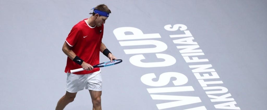 Nicolás Jarry cae en el debut de Chile en Copa Davis