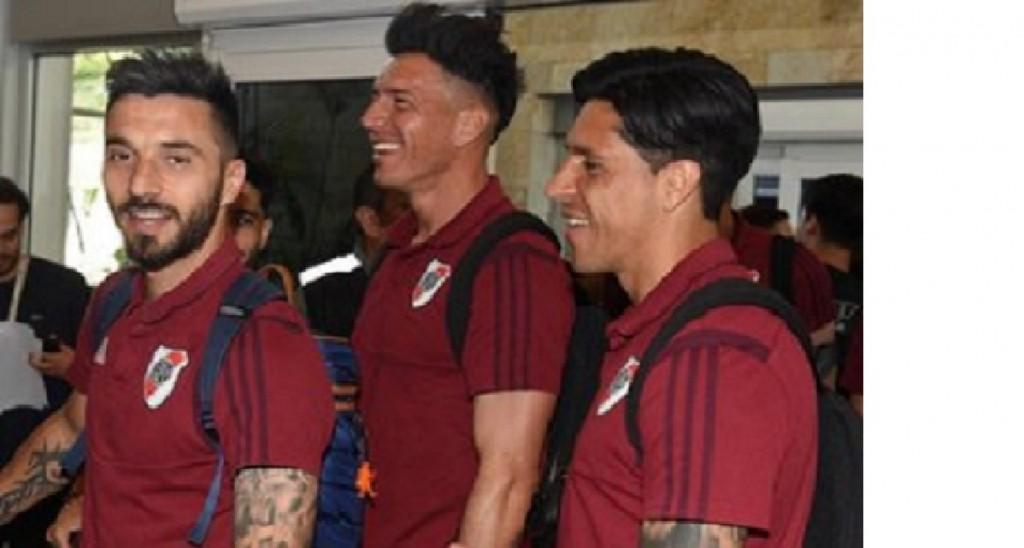 River partió a Lima ilusionado con la Copa Libertadores