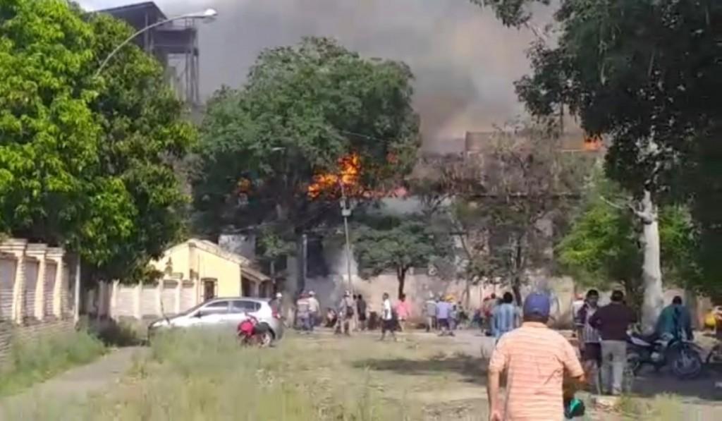 Explosión e incendio en el Ingenio La Esperanza 3 muertos