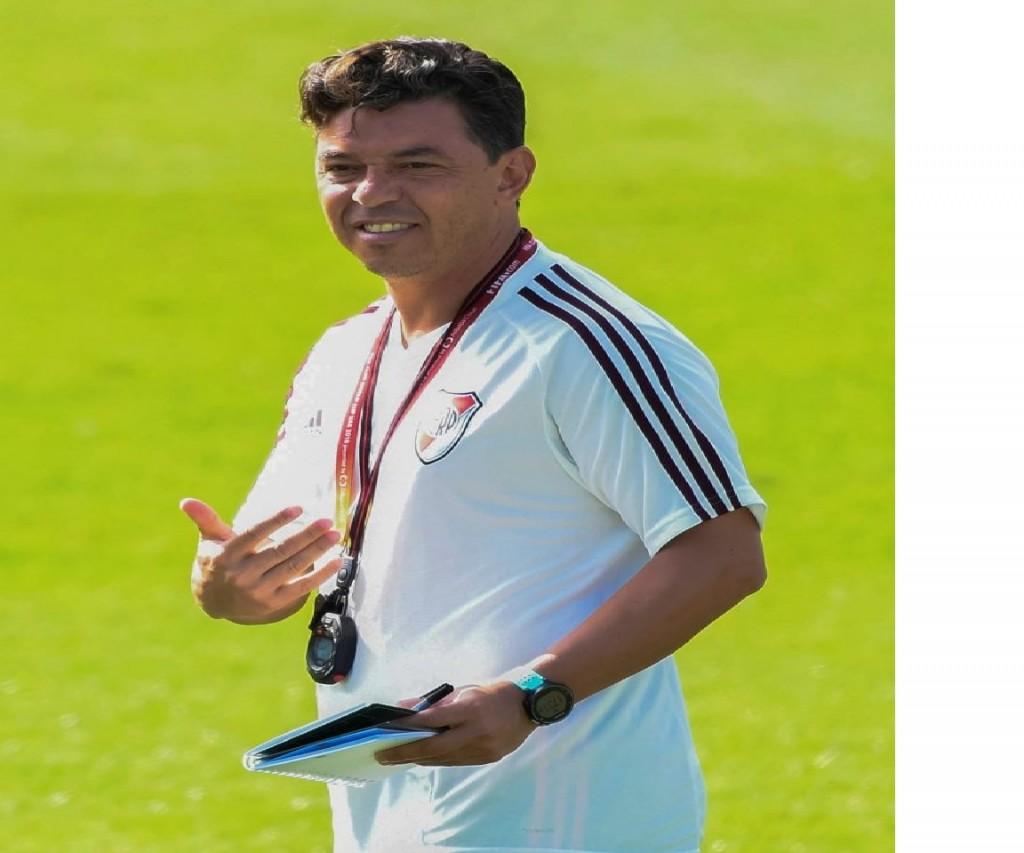 Marcelo Gallardo confirmó la formación para la final de la Copa Libertadores