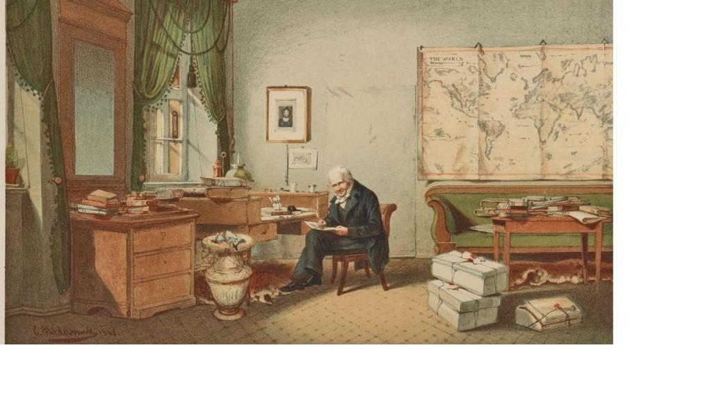 Un pionero: Humboldt, el naturalista global