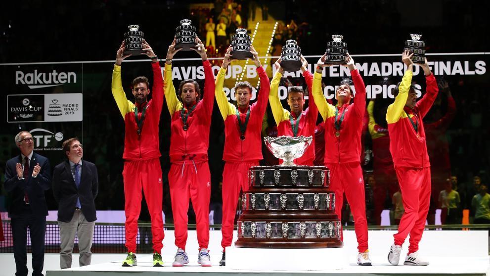 España le ganò a Canadá y se lleva la Davis de Piqué