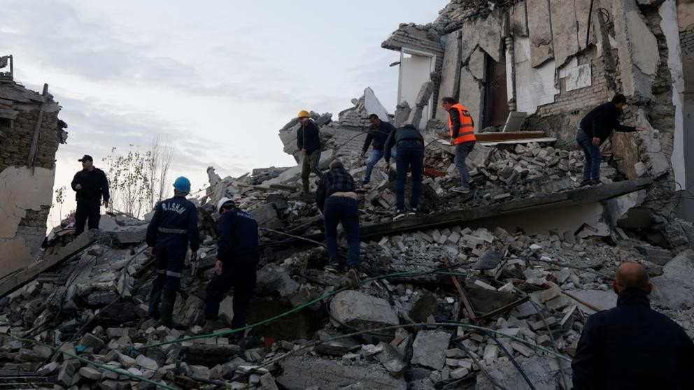 Terremoto de magnitud 6,4 en Albania deja 9 muertos
