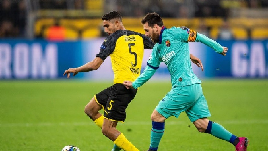 Barcelona recibirá Borussia Dortmund