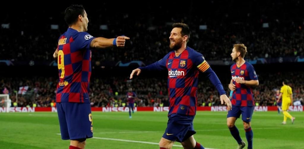 El Barcelona gano y paso a octavos de final de la Champions League
