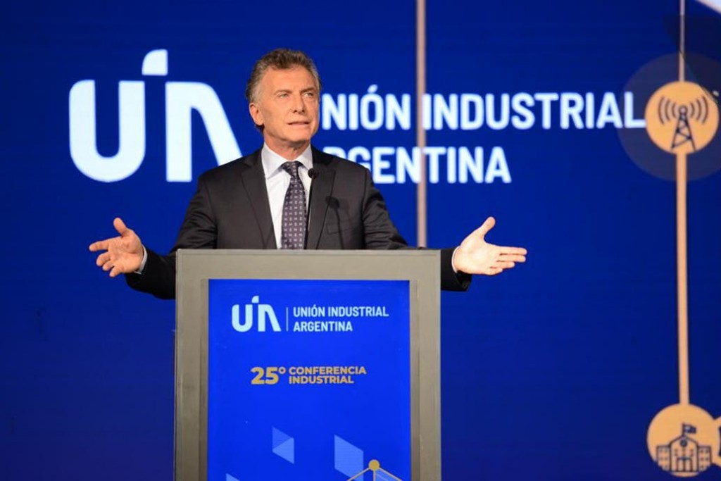 UIA. Macri pidió cuidar Vaca Muerta y avanzar para lograr el equilibrio fiscal