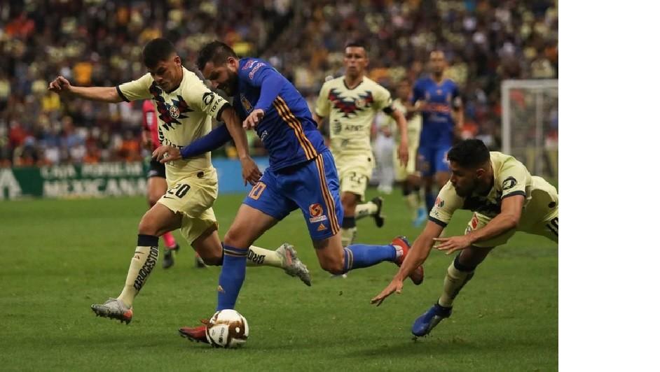Tigres venció al América 2 a 1 en el Estadio Azteca