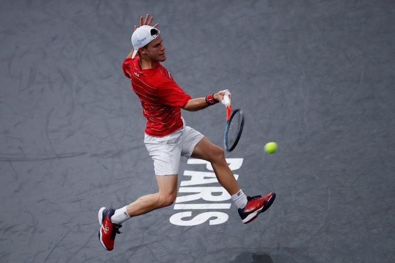 Schwartzman ganó en su debut en el Masters 1000 de París
