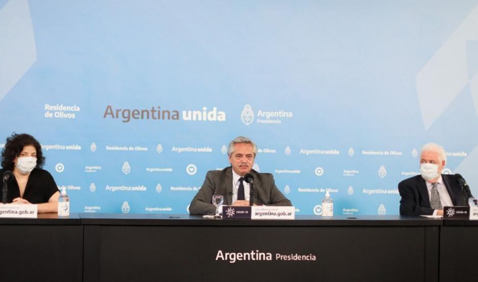 Fernández anunció el fin del aislamiento obligatorio en el AMBA