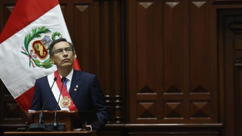 El Congreso de Perú destituyó al presidente Martín Vizcarra