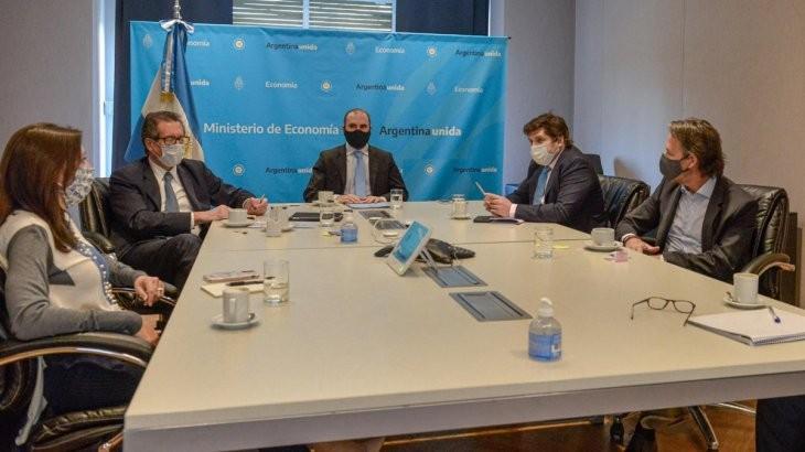 El FMI  se reunirá con el ministro Guzmán