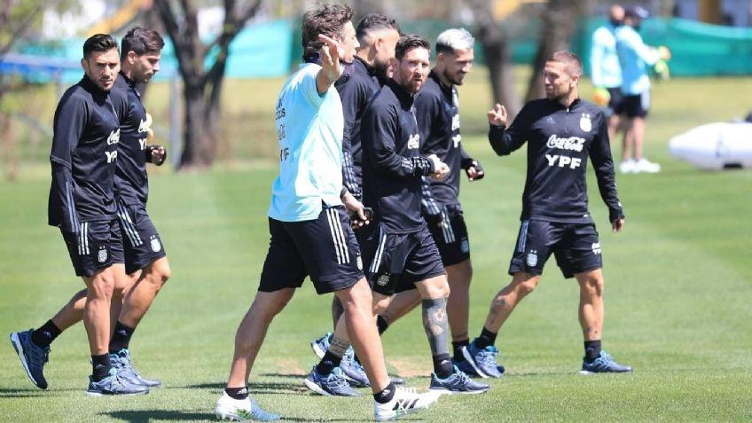 Scaloni completó el plantel para el duelo con Paraguay