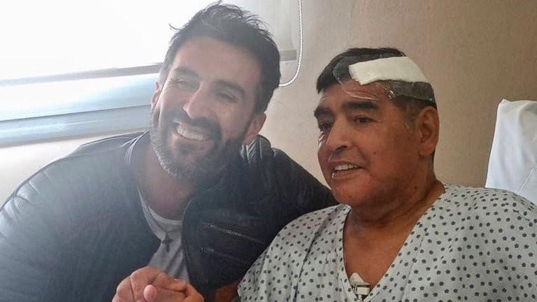 Diego Maradona fue dado de alta despues de 10 días de internación