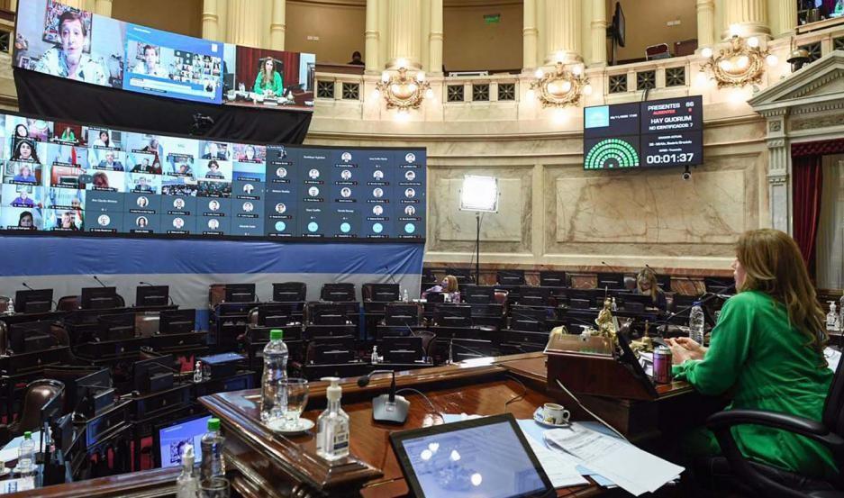 El Senado buscará aprobar el Presupuesto 2021