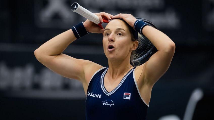 Nadia Podoroska deja el sueño de Linz