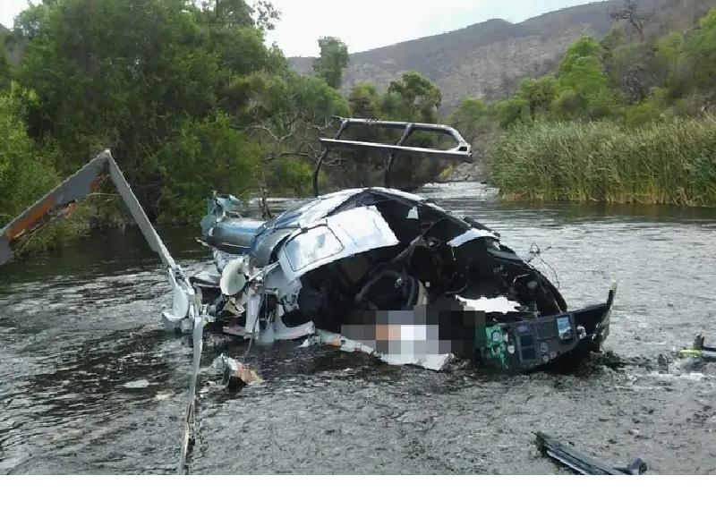 Cómo fue el accidente del empresario Jorge Brito