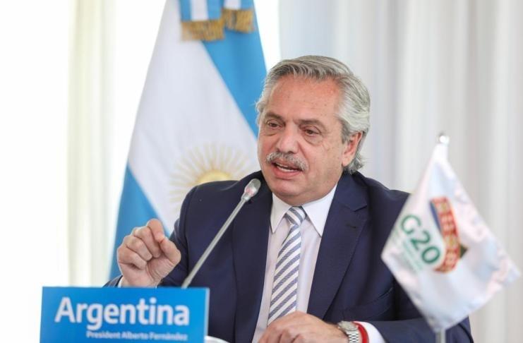 Fernandez: Argentina atendió a todos e hizo un enorme esfuerzo fiscal