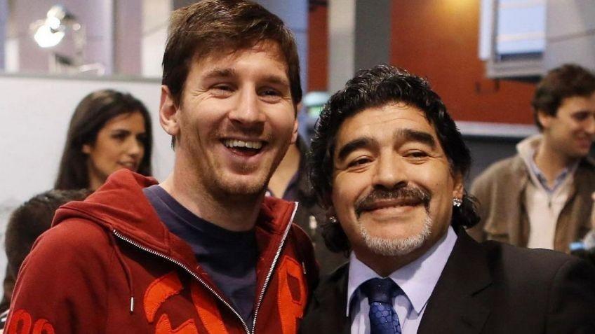 Messi despide a Diego Maradona en un conmovedor mensaje