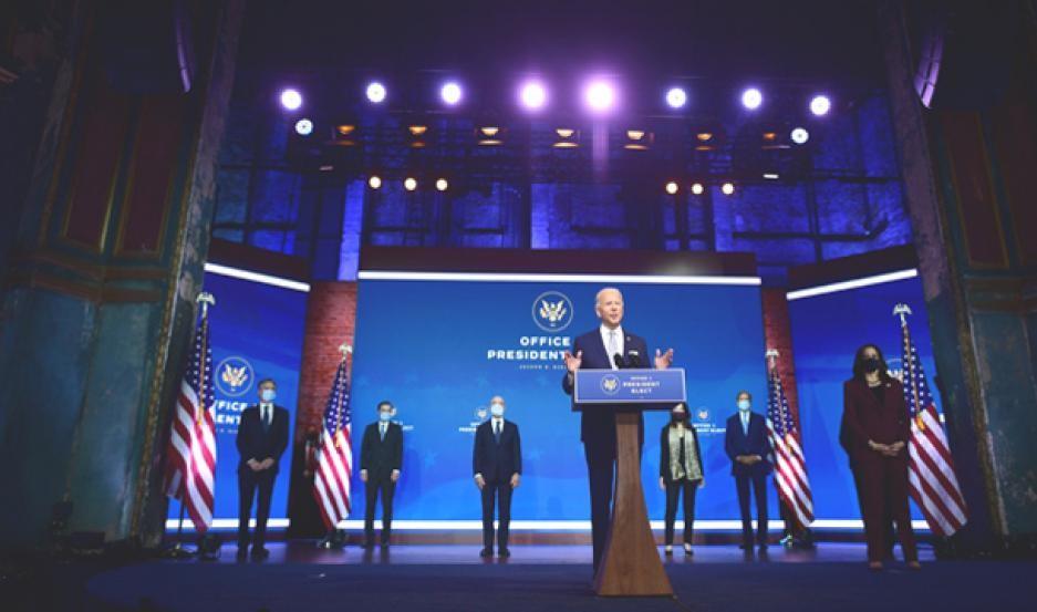 Biden presentó a varias figuras de su futuro gabinete