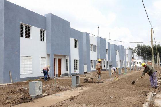 El IPV sorteará ubicación para las casas de Pereyra Rozas