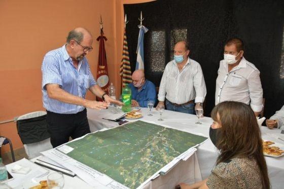 La Provincia expuso las obras en ejecución en Rivadavia