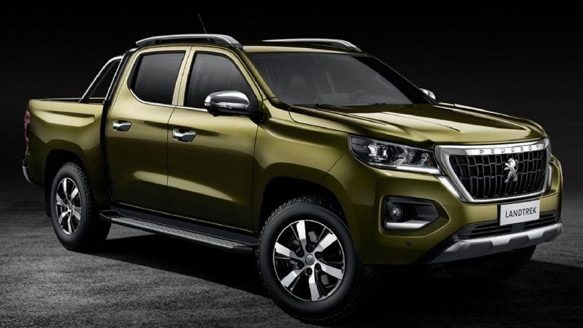 Landtrek la nueva  pick up  Peugeot