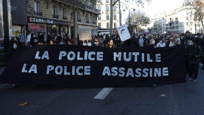 Una protesta deja 60 policías heridos y 80 detenidos
