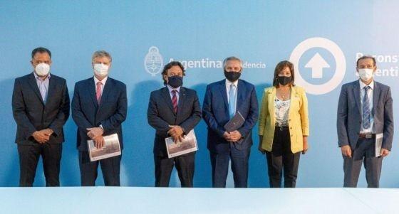 Sáenz acompañó al Presidente en el lanzamiento del Plan Gas Ar