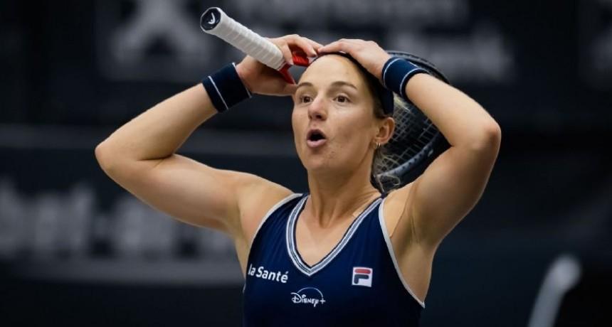 Nadia Podoroska se retira de Linz
