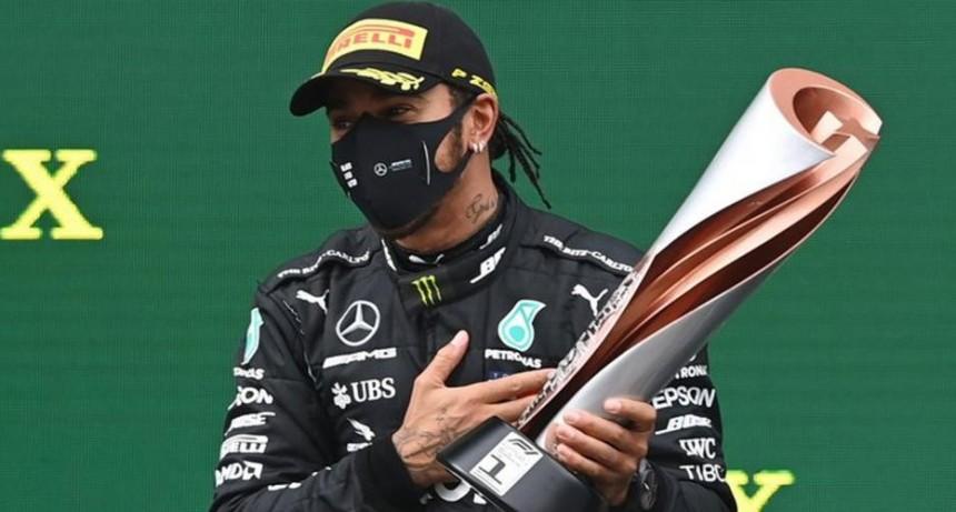 Lewis Hamilton se consagró campeón de la Fórmula 1 en el GP de Turquía