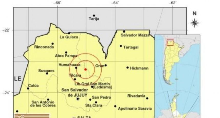 Fuerte sismo en la provincia