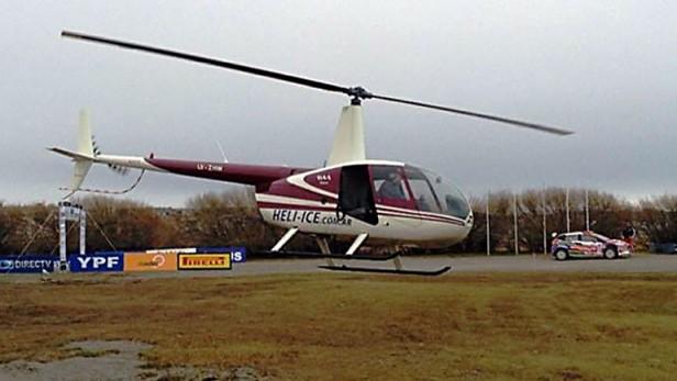 Cayó el helicóptero del ex jardinero de los Kirchner en El Chaltén