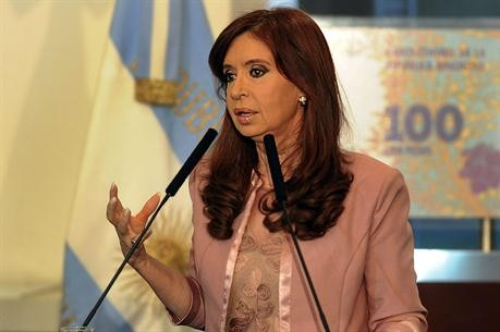 Cristina Kirchner inauguró una nueva modalidad de cadena nacional