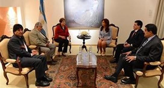 Acuerdan el ingreso de Bolivia al Mercosur