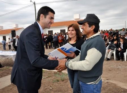 Catorce familias de Payogasta recibirán su primera vivienda propia