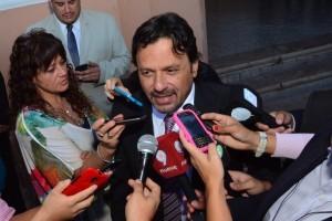El intendente Sáenz participó de la asunción de un nuevo mandato del gobernador Urtubey