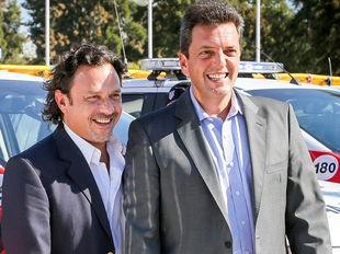 """""""Sáenz tendrá todo el apoyo del Frente Renovador y su equipo económico"""", dijo Massa"""