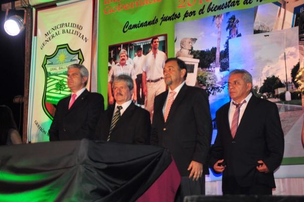 El vicegobernador participó de la asunción de los intendentes de Embarcación y General Ballivián