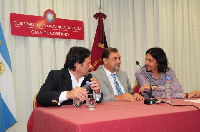 El vicegobernador Isa participó de la firma de un convenio