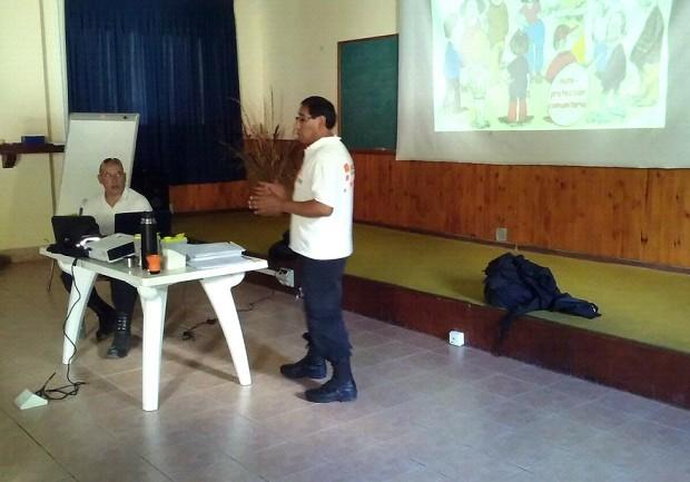 INTA: Recibió capacitación en Prevención y Emergencias
