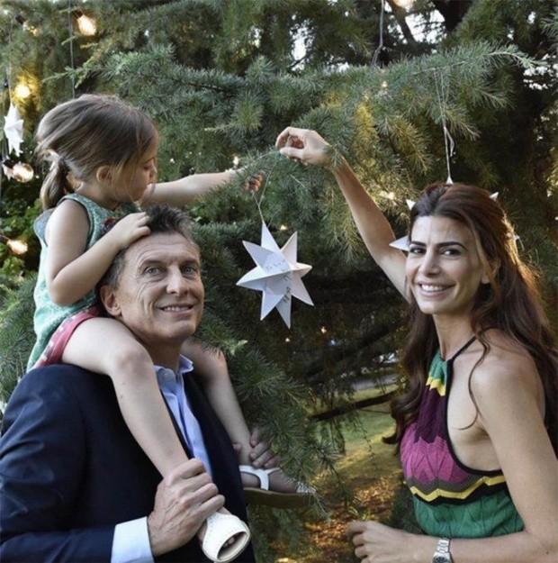 Mauricio Macri  esta con su familia de vacaciones