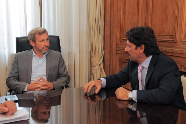 Frigerio comprometió ayuda del Gobierno nacional a la ciudad de Salta