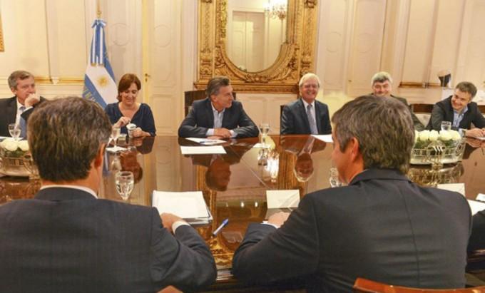 Macri encabeza hoy la reuniòn de gabinete
