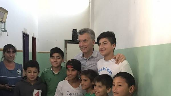 Macri: tenemos que lograr que cada chico tenga las mismas oportunidades