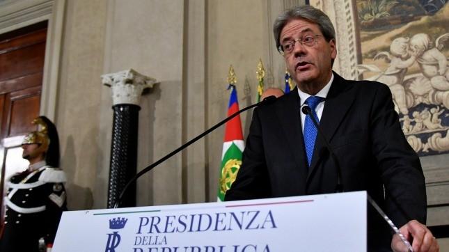 Italia:Gentiloni presentó su gabinete y juró como primer ministro