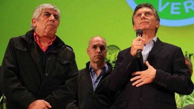Macri a solas con Moyano en Olivos