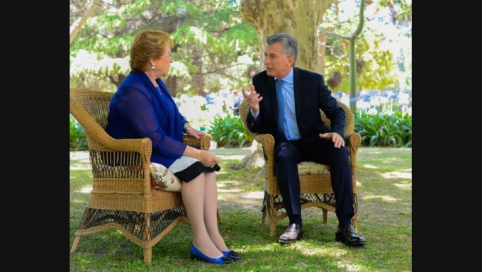 Mauricio Macri y Michelle Bachelet anuncian nuevos acuerdos de conectividad